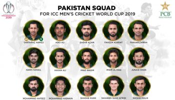 World cup 2019 squad