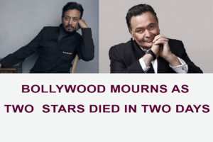 Bollywood Mourns as Two Stars Died in Two Days