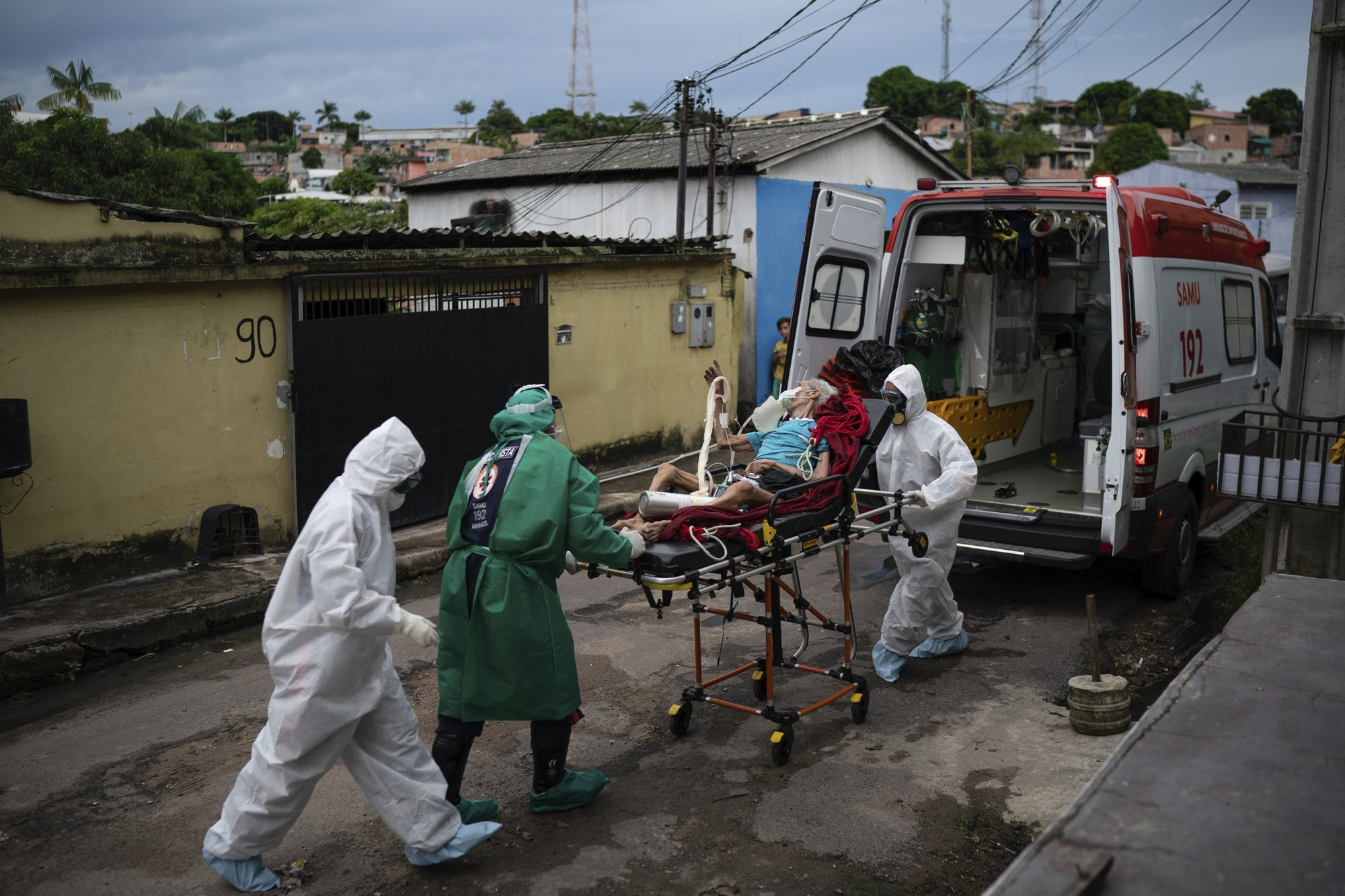 Brazil now has the Second-Highest Number of Coronavirus Cases in the World