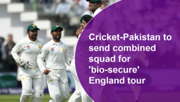 Pakistan plans to send a 25-man squad to England in July to meet the demands of playing an entire tour in a 'bio-secure' bubble, Pakistan Cricket Board (PCB) chief executive Wasim Khan told Reuters.