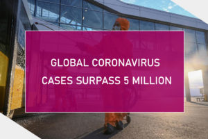 Global coronavirus cases surpass 5 million