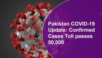 Pakistan COVID-19 Update: Confirmed Cases Toll passes 50,000