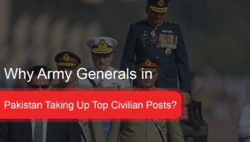 Pakistan Taking Up Top Civilian Posts?