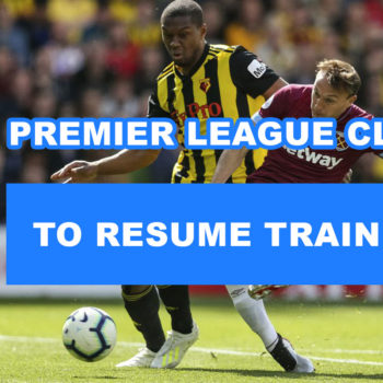 to Resume Training