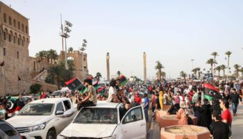 Libyans Celebrate Liberation Of Tripoli From Khalifa Haftar