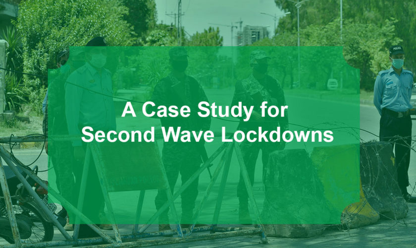 A Case Study for Second Wave Lockdowns