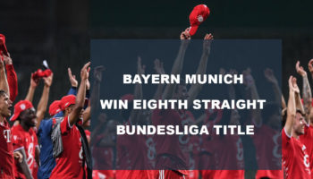 Bayern Munich Win Eighth Straight Bundesliga Title