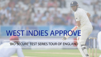 'Bio-Secure' Test Series Tour of England