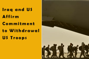 The United States announced Thursday it would decrease troops in Iraq in the following months as conflict among the two countries softened under a new US-friendly administration in Baghdad.