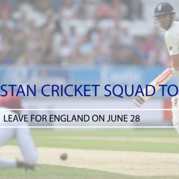 Leave for England on June 28