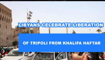 Of Tripoli From Khalifa Haftar