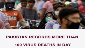 Pakistan Records more than 100 Virus Deaths in Day