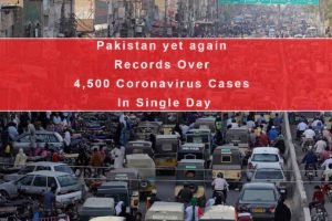 Pakistan yet again Records Over 4,500 Coronavirus Cases In Single Day