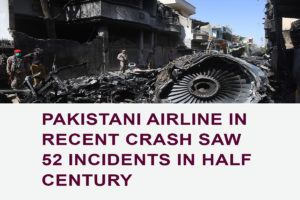Pakistani Airline in Recent Crash Saw 52 Incidents in Half Century